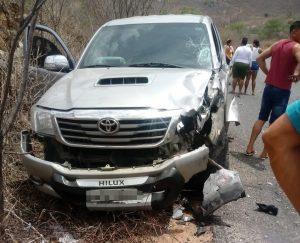 Acidente mata dois jovens em Taquaritinga do Norte