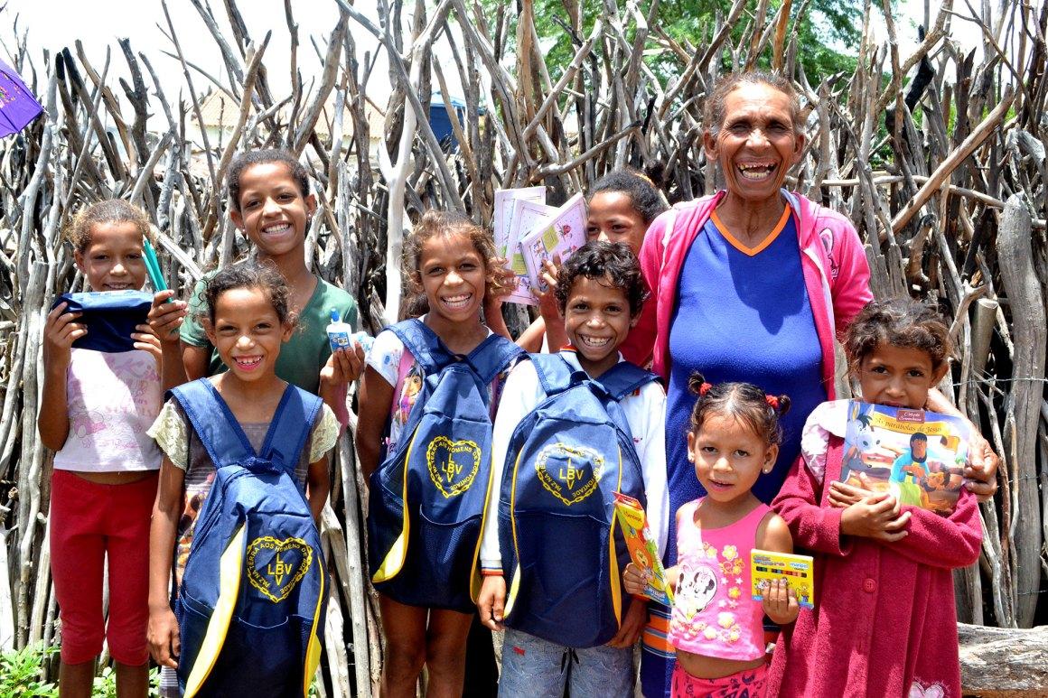 Campanha da LBV em prol da educação, apoiará alunos de ONGs de Caruaru