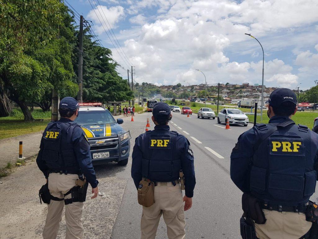 Polícia Rodoviária Federal registra redução de acidentes na Operação Carnaval em Pernambuco