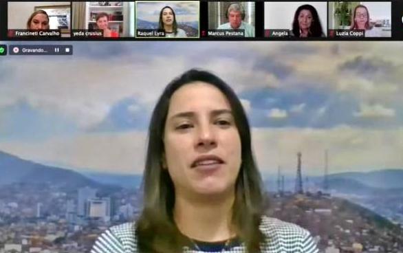 Raquel Lyra debate momento político do Brasil