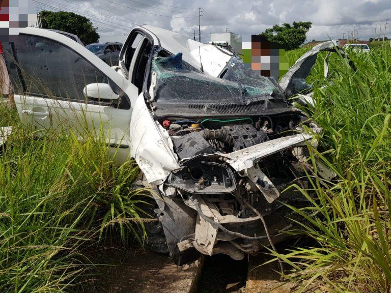 Milagre: recém-nascida sobrevive ilesa a terrível acidente na BR-101