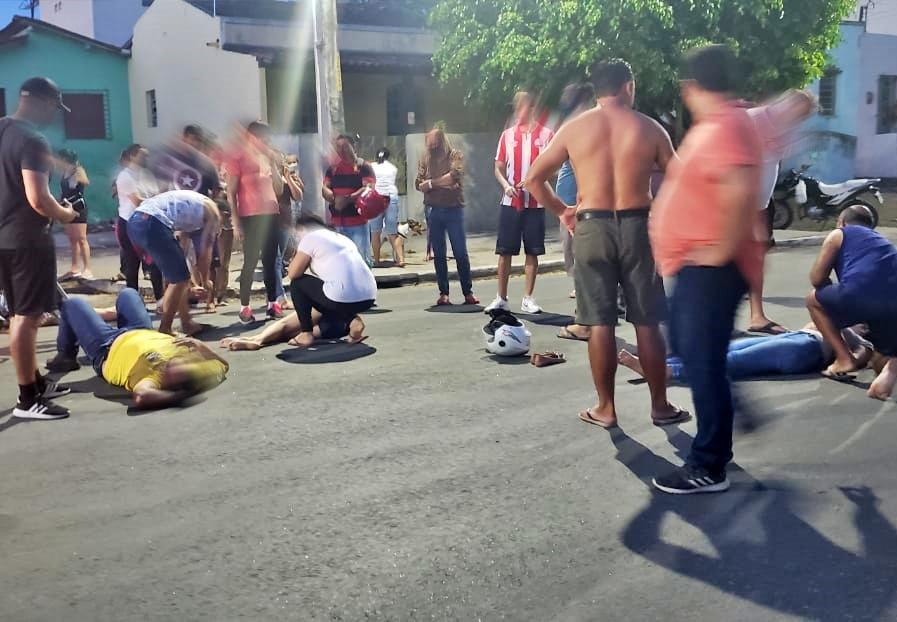 Gravatá: colisão entre duas motos deixam três pessoas ferida no Jucá