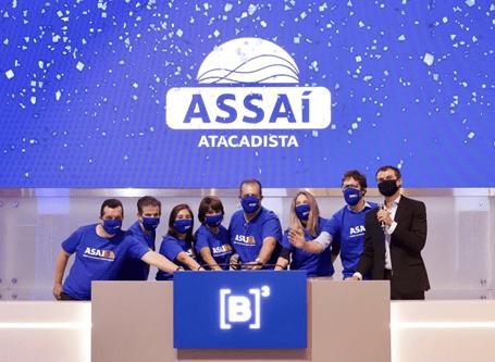 Assaí Atacadista estreia na bolsa de valores e ações disparam