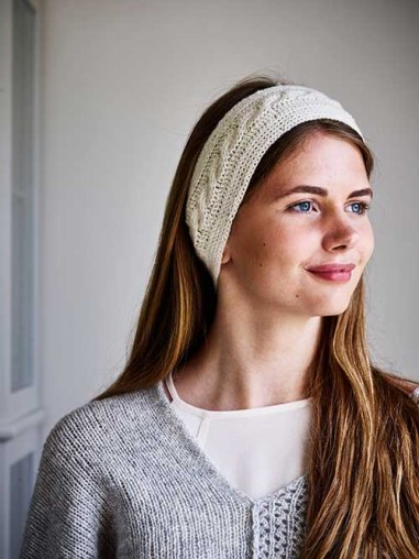 Headband with cables