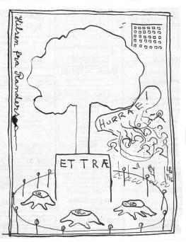 Som et postkort i fremtiden - 'Hilsen fra Randers'. c poj 1976