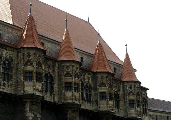 Zamek w Hunedoarze. (Fot. Luiza Poreda)
