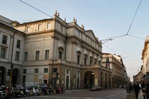 La Scala - najsłynniejsza na świecie opera. (Fot. Ewa Serwicka)