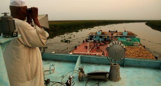 W górę Nilu - na sudańskiej barce