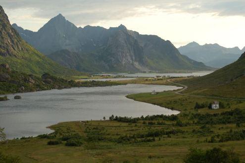 Krajobraz północnej Norwegii. (Fot. Andrzej Juda)