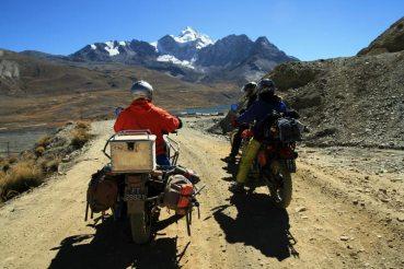 Boliwia - w drodze na Huayna Potosi
