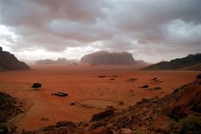 Wadi Rum - pustynia rodem z kosmosu. (Fot. Ewa Dudzińska)