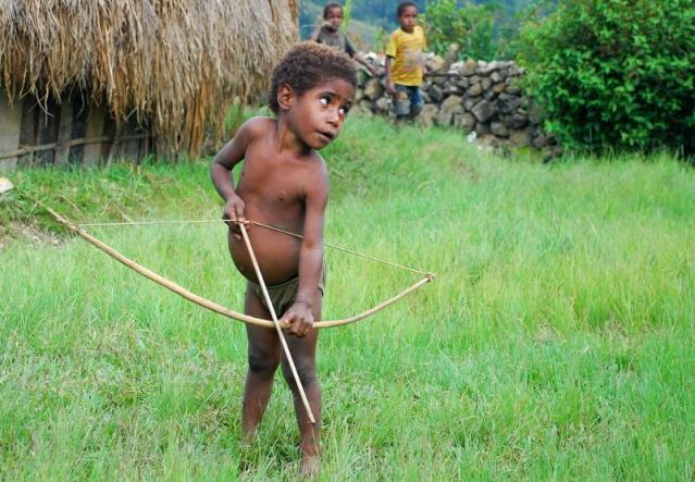 papua - maluch wojownik