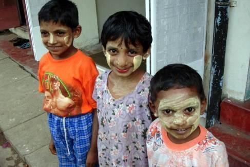 Zdjęcia z Birmy - dzieci