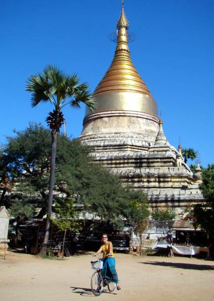 Birma - Bagan na rowerze