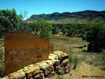 Outback w Australii - Park Narodowy Flinders Rangers