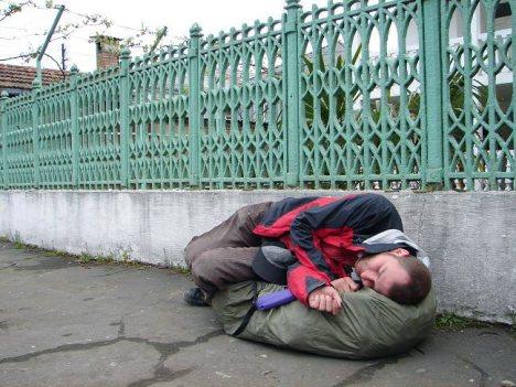 Are you homeless? (Fot. www.klapkikubota.com)