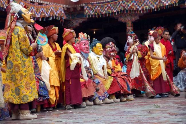 Ladakh, Święto Hemis Tsechu