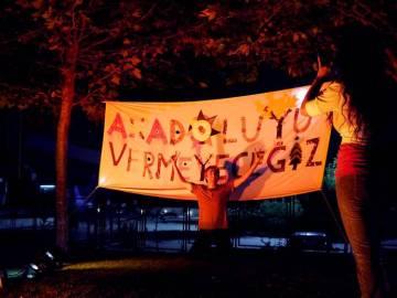 Tansparent Anadolyu podczas koncertu. (Fot. z archiwum Autostopem ku wolności)