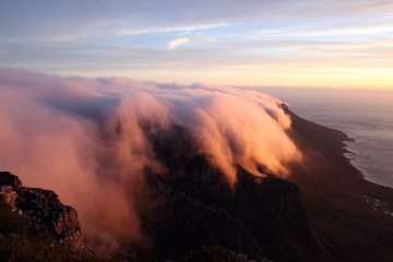Widok z Góry Stołowej. Zdjęcia z RPA