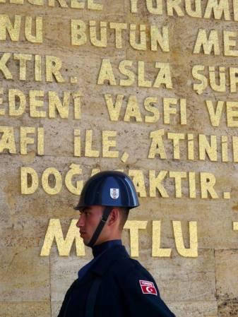Mauzoleum Ataturka w Ankarze