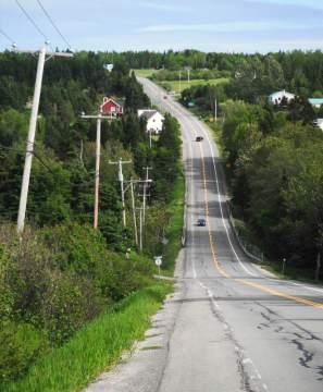 Percé - Gaspé. Rowerowa trasa w Kanadzie