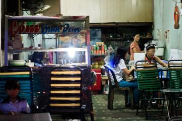 Wietnamska restauracja.