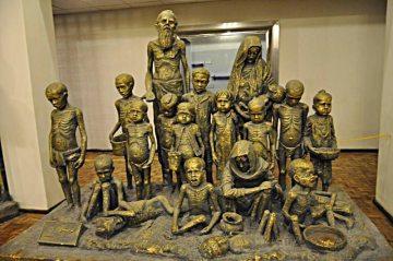 Kultura w Iranie - rzeźba w muzeum w Tabrizie