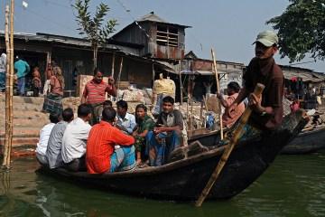 Zdjęcia z Bangladeszu. Slumsy w stolicy