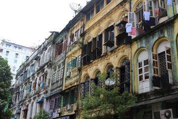 Zdjęcie z Rangunu, stolicy Birmy