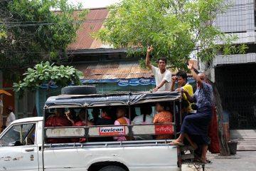 Transport w Birmie