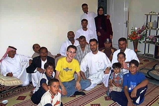 Tradycyjna muzułmanska rodzina z Syrii. (Fot. Mateusz Stachniuk)