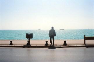 Saloniki, widok na morze