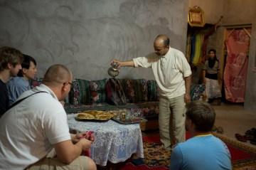 Kolacja u Beduina w Maroku