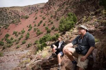 Odpoczynek w dolinie Atlasu