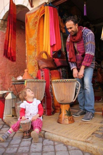 djembe w Maroko