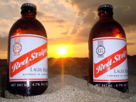 Red Stripe - popularne jamajskie piwo