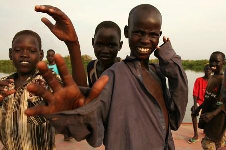 Dzieciaki z Sudanu Południowego