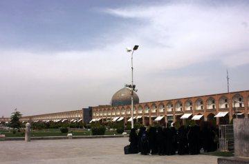 Irańskie kobiety w czadorach