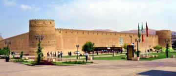 Iraz, cytadela Arg-e Karim Khan w Shiraz.