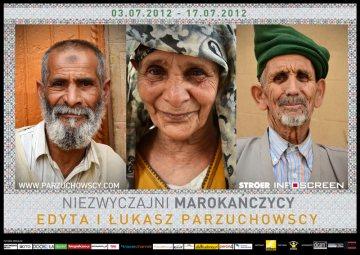 Niezwyczajni Marokanczycy - wystawa zdjęć Edyty i Łukasza Parzuchowskich