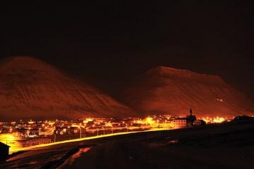 Longyearbyen jest największa osadą na Spitsbergenie