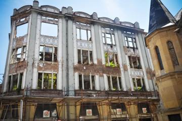 Ruiny w Sarajewie