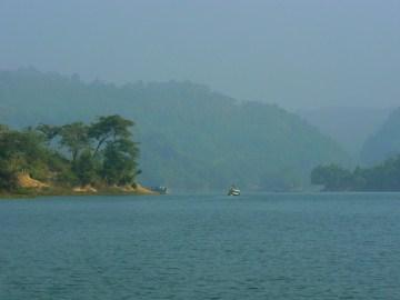 Jezioro Kaptai.