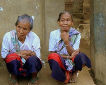 Kobiety w wiosce Rangapani.