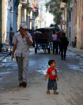 Kuba, ulica w Hawanie