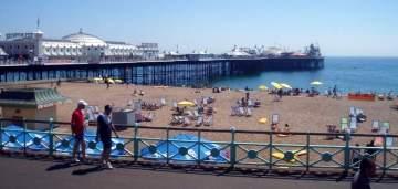 Plaża w Brighton