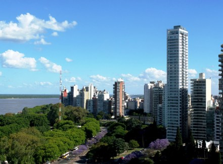 Biurowce w Rosario