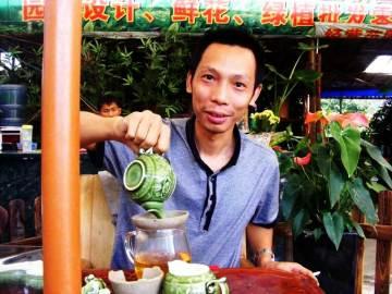 Ceremonia parzenia herbaty w Chinach
