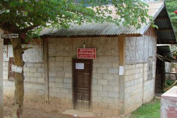 komisariat policji w Nong Khiaw