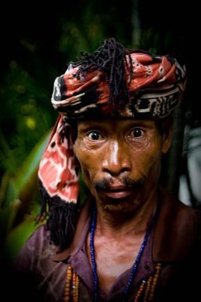 Indonezyjski sprzedawca